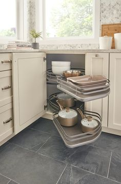 20 most inspiring corner cabinet solutions images kitchen storage rh pinterest com