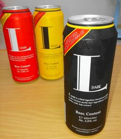 L Weizer, L Lager and L Dark – Cheap Imported German Beer German Beer, Brewing, Beer Cans, Canning, Dark, Drinks, South Korea, Restaurants, Drinking