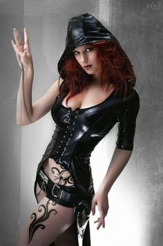 Black hood latex