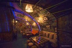 Steampunk Submarine-Themed Pub In Romania | Bored Panda