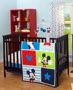 Best Red And White Mickey Mouse Crib Bedding Crib Nursery 400 x 300