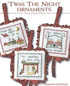 Twas the Night Ornaments -Must do these!  JBW designs series of 4 books