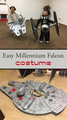 Make Your Own Millennium Falcon Costume for Your Child