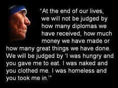 Mother Teresa- great quote!