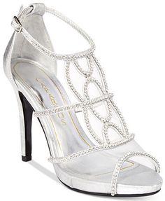 b9c180e88e0cf3 Caparros Ellen Peep-Toe Evening Sandals Shoes - Sandals   Flip Flops -  Macy s