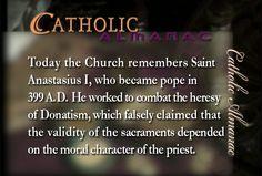 St. Anastasius I