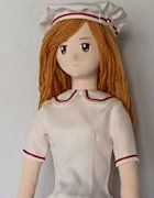 Cloth Doll Making: Here are a lot of cloth dolls and stuffed toys. I show you my knowledge and technique about making. You will learn by yourself how to make a doll or plush. You can get printable patterns of most dolls. Though my explanation may be poor,  numerous pictures will help you to understand the process. Tutorial and instructions are written by Runo. http://dollmaker.nunodoll.com