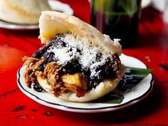Arepas -- sandwich by another name -- can't go wrong, check out the ones with sweet plantains!!!