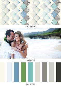 Pattern Pretty Palette | 27 | Brooklyn Bride - Modern Wedding Blog