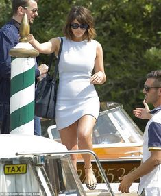 All aboard: She commands a lofty position as one of the elite judging panel at the 73rd annual Venice Film Festival, but Gemma Arterton was just a regular tourist while boarding a modest water taxi in the northern Italian city on Wednesday morning.