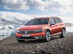 Внедорожный универсал Volkswagen Passat Alltrack 2016 / Фольксваген Пассат Оллтрак 2016 – вид спереди