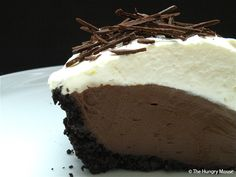 Honestly truly the BEST Chocolate Cream Pie! Don't have as much time? Use graham cracker crust instead- great either way!