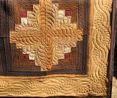 how to quilt a log cabin quilt Cindy Roth, Quilter - DIY and crafts Log Cabin Quilt Pattern, Log Cabin Quilts, Log Cabins, Machine Quilting Designs, Quilting Projects, Quilting Ideas, Longarm Quilting, Free Motion Quilting, Log Cabin Designs