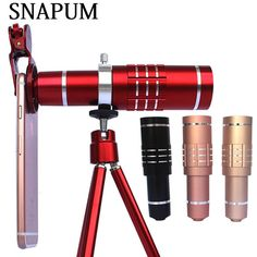 SNAPUM mobile phone 18x telescope Camera Zoom optical Cellphone telephoto Lens For for Huawei HTC oppo vivo //Price: $28.38//     #electonics