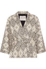 MadewellArrowhead cotton-jacquard jacket
