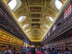 Luxembourg Palace Library, Paris, France.