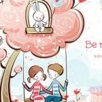 Be My Valentine ? Cute Valentines Day Cover Photo