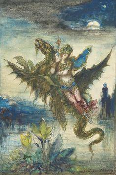 La Péri ~ by Gustave Moreau
