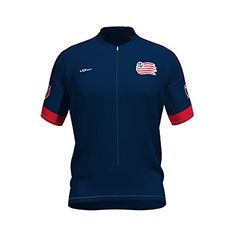 50b2e2e19 Amazon.com   VOmax New England Revolution Primary Short Sleeve Cycling  Jersey   Sports   Outdoors