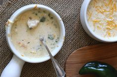 All the goodness of a chile relleno in a creamy chicken soup. Low carb and gluten-free.