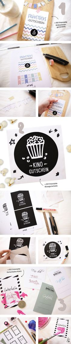 DIY coupon - all-invitations. Diy Presents, Diy Gifts, Christmas Crafts For Adults, Movie Gift, Advent Calenders, Gifts For My Boyfriend, Diy Birthday, Creative Gifts, Diy Cards