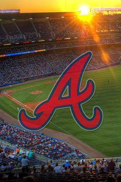 Brave Wallpaper, 3d Wallpaper, Michigan Wolverines Football, Braves Baseball, Atlanta Braves Logo, Baseball Wallpaper, Turner Field, Mlb Teams, Sports Teams