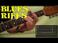 10 MUST LEARN Blues Guitar Riffs - EASY! - YouTube
