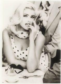 Anna Nicole Smith GUESS jeans playboy marilyn monroe lady gaga | Flickr - Photo Sharing!