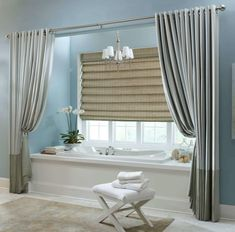 Bathroom Shower Curtains Ideas Woven Shades Bamboo Window Shutters