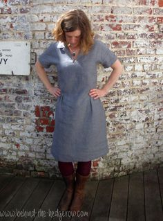 The Merchant and Mills Factory Dress // Behind the Hedgerow