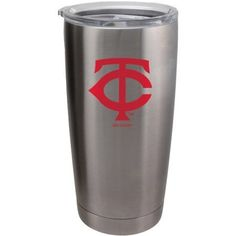 A 20 oz ultra tumbler with 18/8 stainless steel body with double-wall, vacuum insulated construction and slider top lid. Decorated with colorful team logo. Actual color may vary. Made by Boelter Brand
