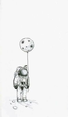 Astro black and cosmo dark astronaut drawing, astronaut illustration, astronaut tattoo, space illustration Art Inspo, Kunst Inspo, Art Sketches, Art Drawings, Space Drawings, Pencil Drawings, Art Du Croquis, Moon Drawing, Sketch Drawing