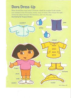 Miss Missy Paper Dolls: Dora the Explorer