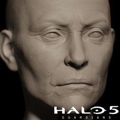 Halo 5   Head Sculpts by Brad Shortt   Portrait   3D   CGSociety