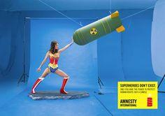 SUPERHEROES DON'T EXIST – AMNESTY INTERNATIONAL