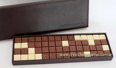 www.chocotelegrama.com.ar  Regalos Para Hombres. Mensaje de chocolate