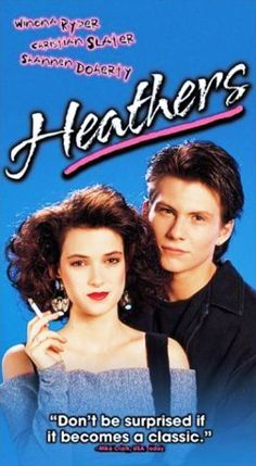 "Heathers (1988): A girl who half-heartedly tries to be part of the ""in crowd"" of her school meets a rebel who teaches her a more devious way to play social politics; killing the popular kids. Director: Michael Lehmann. Stars: Winona Ryder, Christian Slater, Shannen Doherty. ( watch full movie online video streaming )."