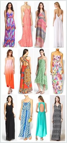 REVEL Picks: Honeymoon Maxi Dresses