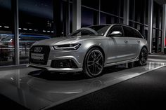 Spectacular Audi RS6 performance 2016 / 605 HP