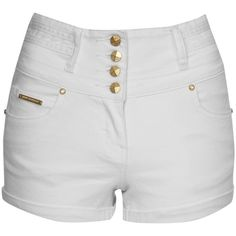 Details about Vintage Womens Girls High Waisted Jeans Shorts Sexy