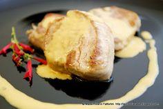 Filetto di maiale arrostito con salsa al cognac e pimento My Recipes, Italian Recipes, Baked Potato, Foodies, Salsa, Potatoes, Baking, Board, Ethnic Recipes