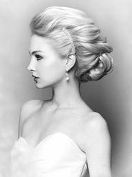 classic wedding day hair