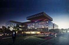 Gallery of New Central Library in Berlin Winning Proposal / Envés Arquitectos - 1