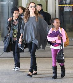 Maddox, Angelina & Zahara