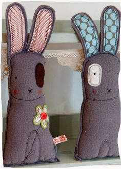 So cute bunnies