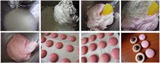 Macarons reteta simpla - cu bezea frantuzeasca - simonacallas