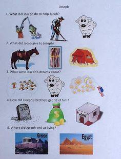 Joseph's Dreams and His Colorful Coat free worksheet   Bible Fun For Kids: Genesis
