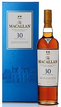 The Macallan Sherry Oak 30 Year Old Whisky,  My absolute favorite whiskey!