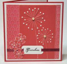 beautiful hand made card