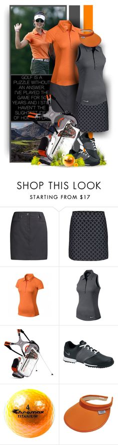 Happy Golf - Weekend - Lori's Golf Shoppe by christiana40 on Polyvore featuring NIKE, women's clothing, women's fashion, women, female, woman, misses and juniors